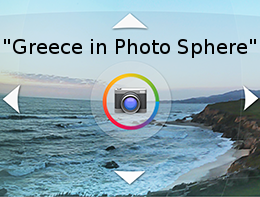 Greece in Photo Sphere