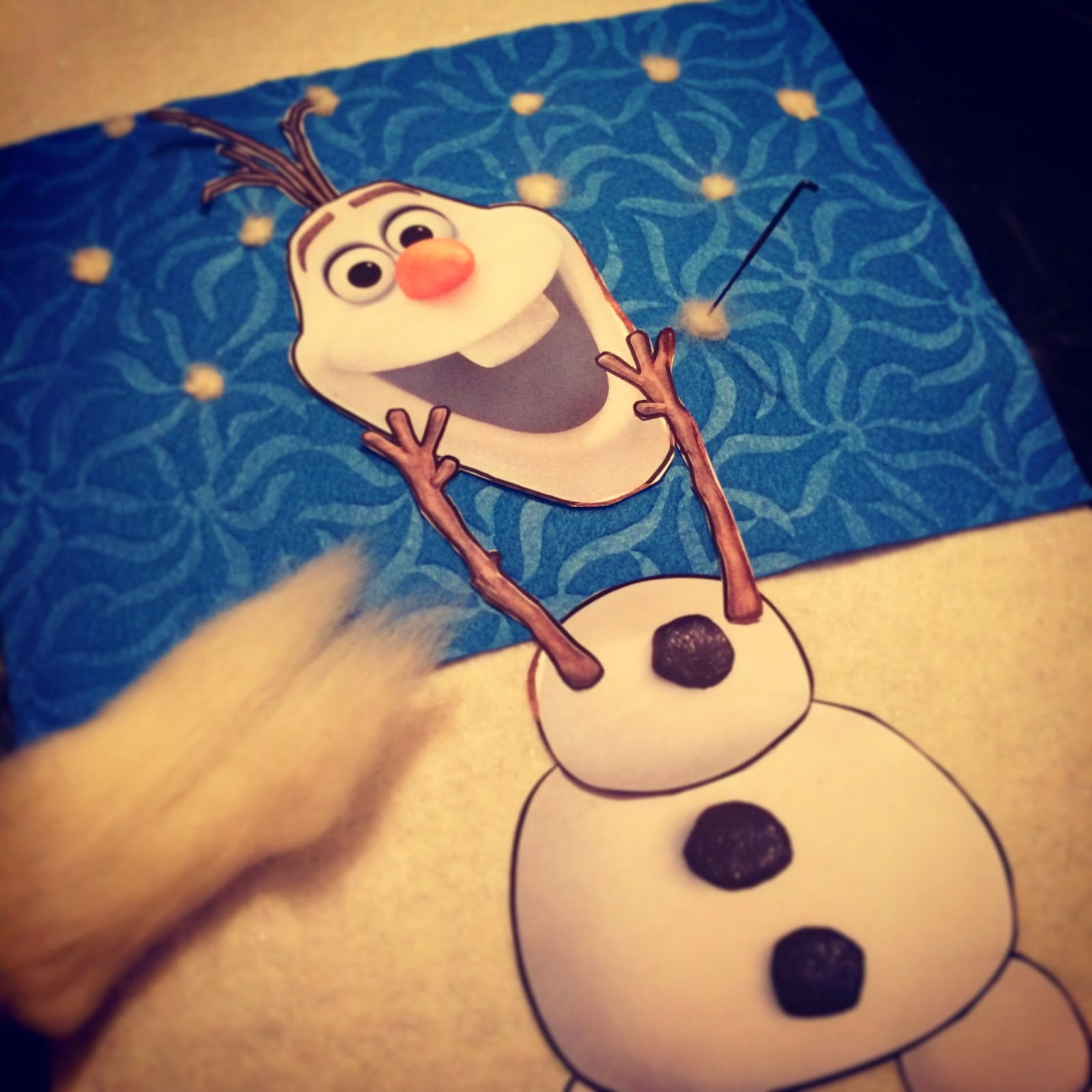 Olaf Pin On Nose