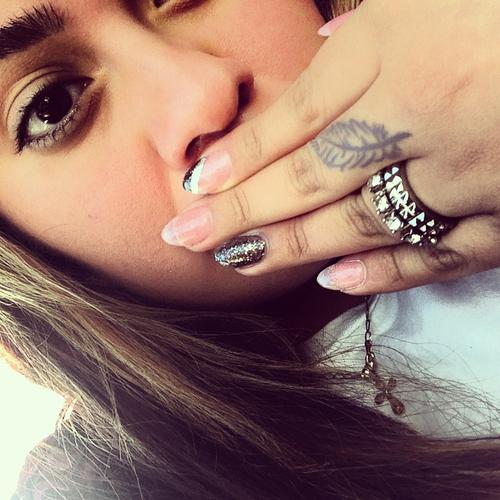 Girls Finger Tattoos