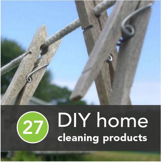 27 Non-Toxic Products for DIY Cleaning