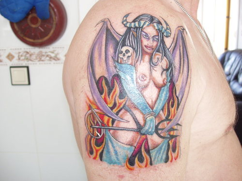 Tattoo and Tattoos Design: The Difference Between The Angel And ...