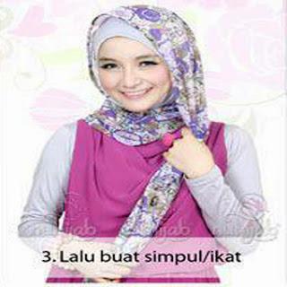 Kreasi Hijab Phasmina Shifon Terbaru