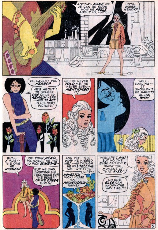 This tale from 1970's Our Love Story #5 was written by Stan Lee and ...