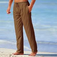 Pantaloni din panza barbati