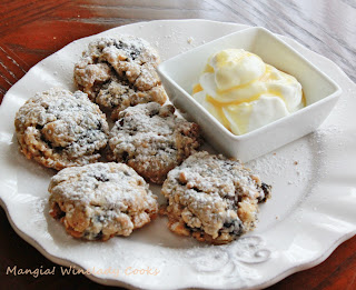 blueberry biscuit cookie