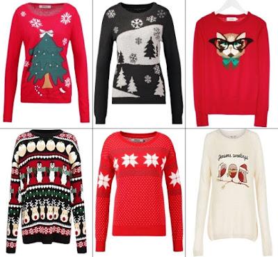 swetry, zima 2015, przegląd swetrów, boże narodzenie, święta