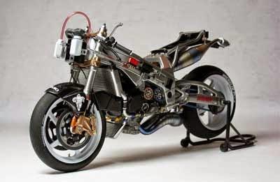 diorama motor Tamiya