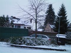 <<<---Mein Zuhause im Winter / Wickrath im November--->>>