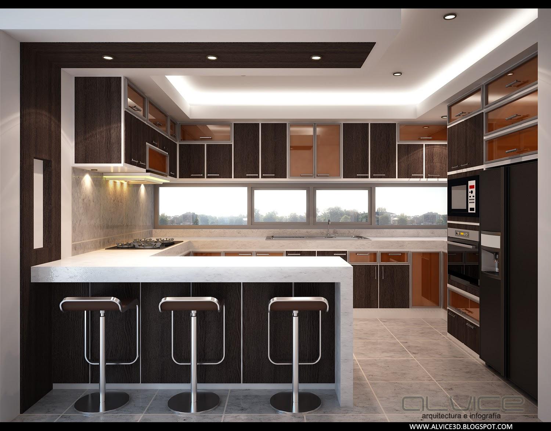 Alexander vinicio celi sala comedor cocina para el sr for Planos de cocina sala comedor
