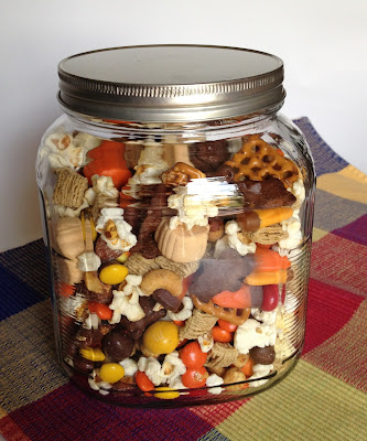 The Best Laid Plans: Gobble Gobble Snack Mix