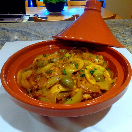 One perfect bite moroccan chicken and onion tagine djej besla i havent shared many moroccan recipes with you since we returned from our last adventure while moroccan food is delicious our meals while in country were forumfinder Images