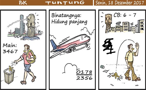Prediksi Gambar Pak Tuntung Senin 18 12 2017