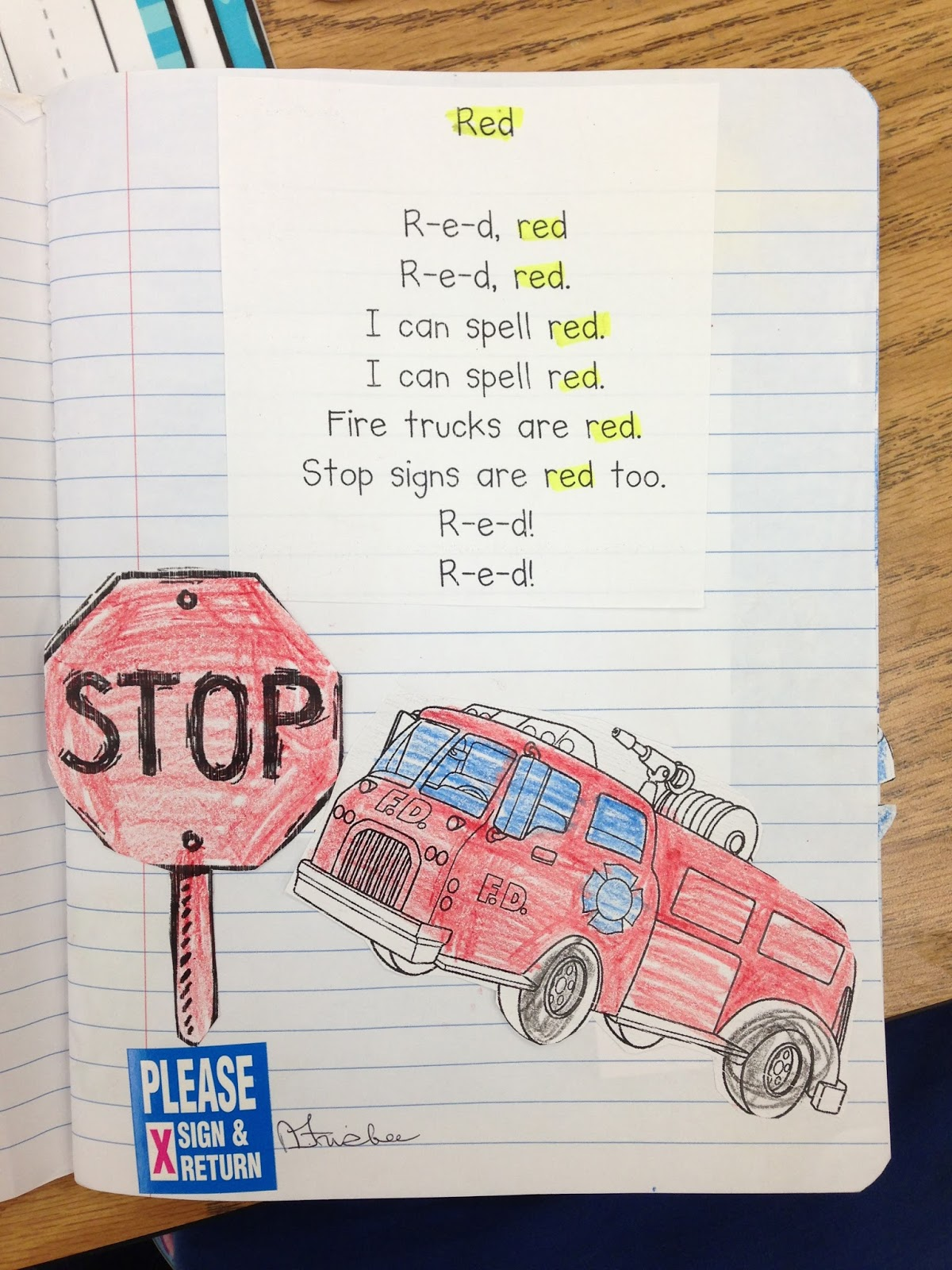 how to write a poem about the color red
