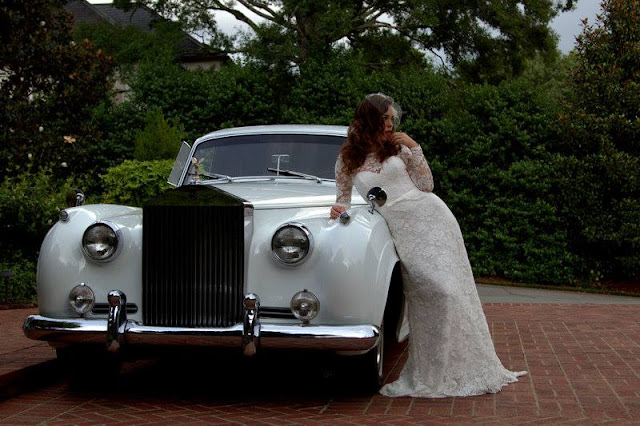Frank Sinatra's Rolls Royce, Model Jillian Mourning, Doug Brooks photography, Deme Fourtounis Make-up, Whitley Hamlin Wardrobe Stylist, J. Majors Bridal Boutique, Charlotte Fashion Blog, Southern Style Blog,