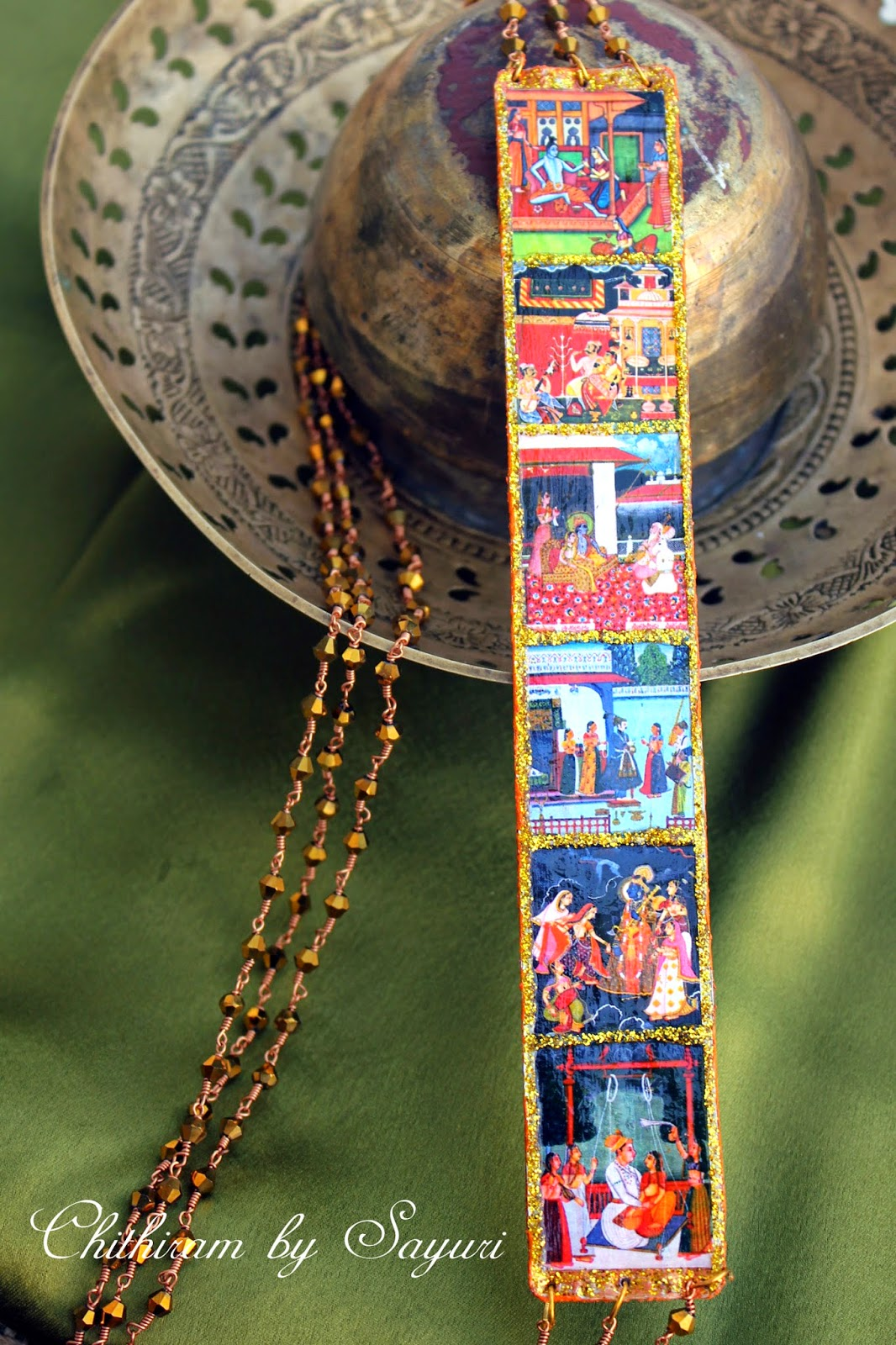Ragamala Necklace - Featuring all the six Parent Ragas