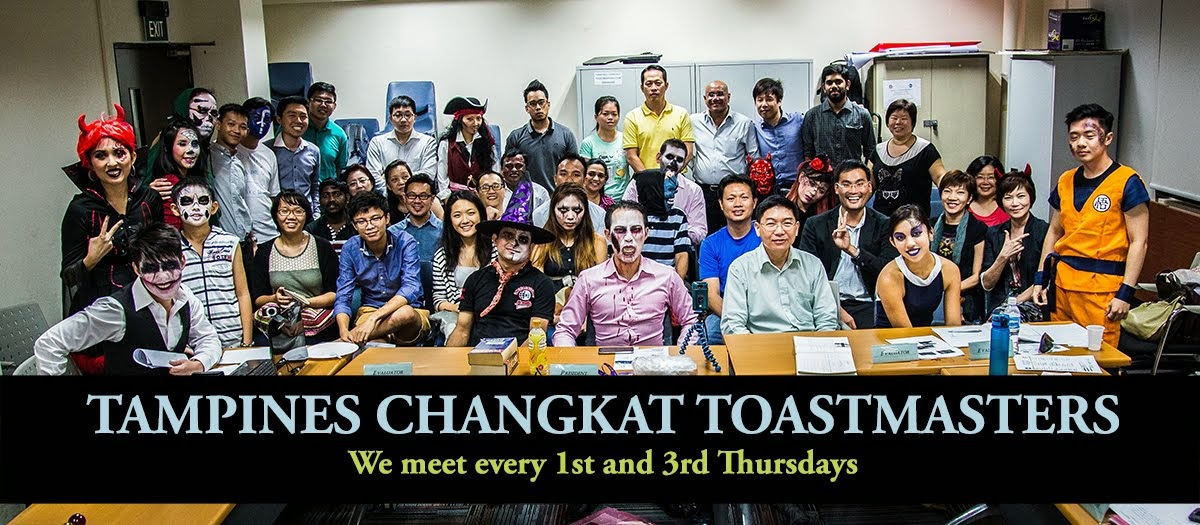 Tampines Changkat Toastmasters Club Singapore | For Better Listening, Thinking and Speaking