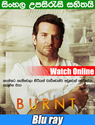 Burnt 2015 Full Movie Watch Online With Sinhala Subtitle