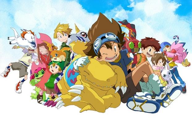 Digimon Adventure Yang Merupakan Serial Anime Jepang Ini Menceritakan 7 Anak Terdampar Di Dunia Digital Pada Musim Panas Tahun 1999