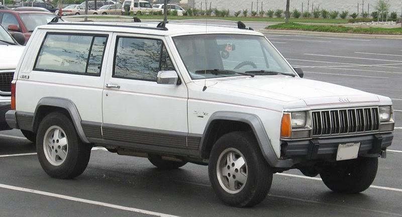 Wonderful A Cherokee Chegava Ao Mercado Na Carroceria Duas Portas E O Motores Eram O  151 De 2.5 Litros Com 106CV E O V6 De 2.8 Litros Com 112CV , Mais Tarde  Chegava ...