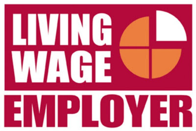Be a living wage employer!
