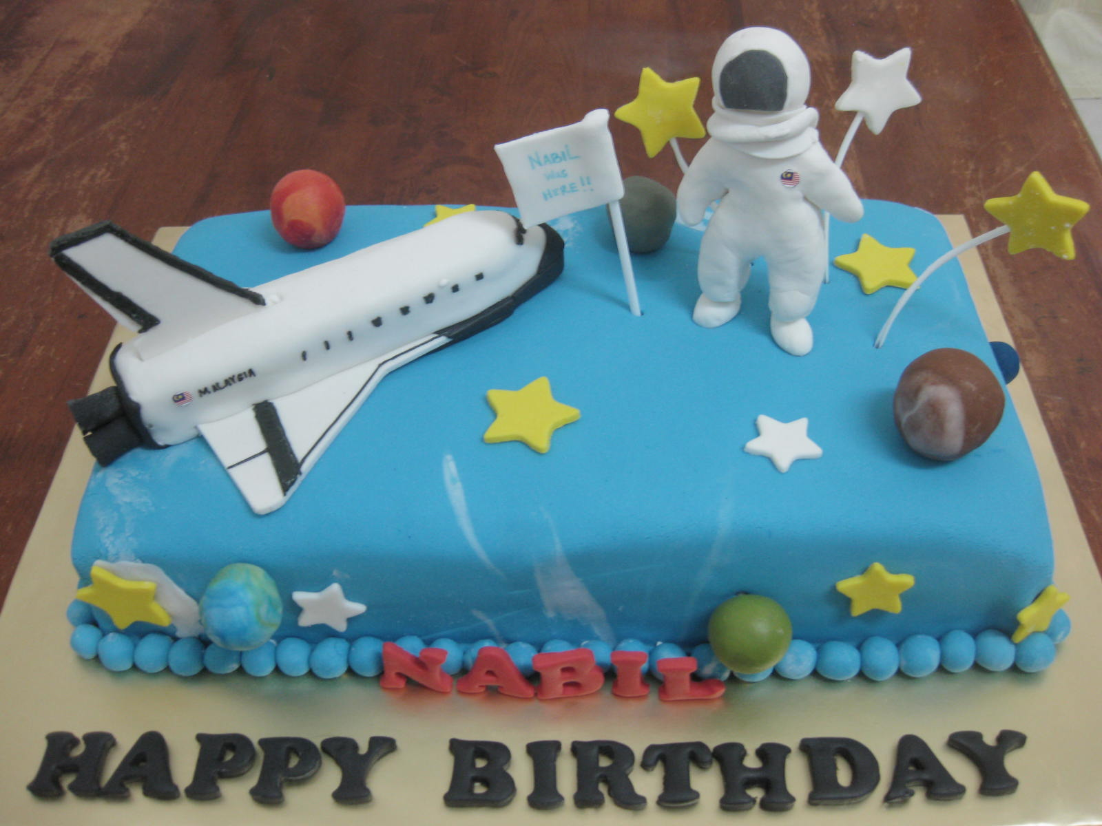 Astronaut Cake Images
