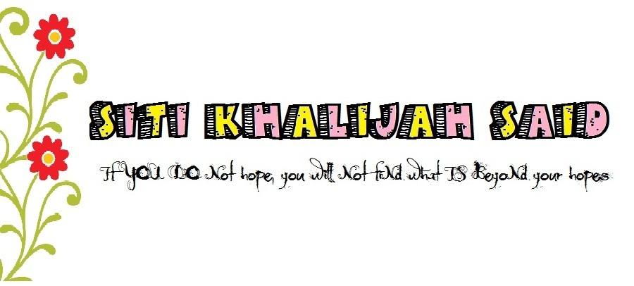 Siti Khalijah Said