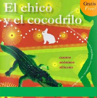 chico y cocodrilo