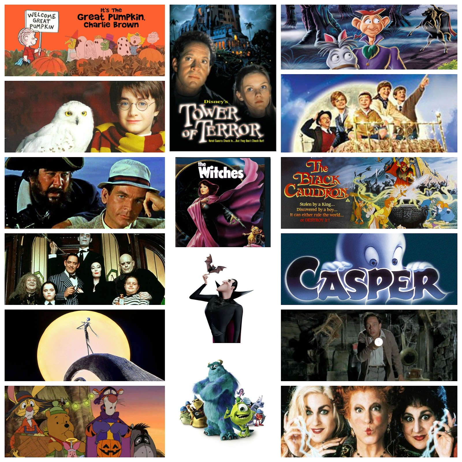 A Page Is Turned: 31 Days of Halloween. Favorite Kids' Movies.