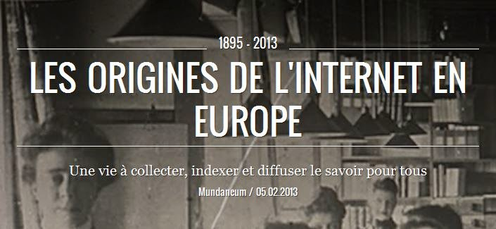 Les origines de l'internet en Europe
