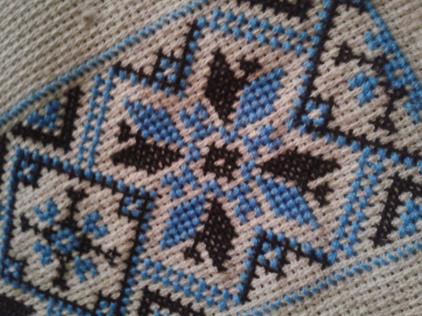 Вышивка украинского орнамента схема