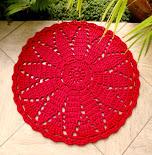 Tapete Vermelho Flor