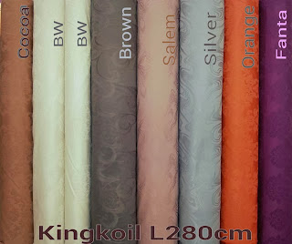 Motif Warna King Koil