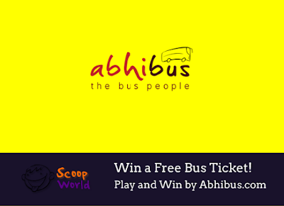Play and Win a bus ticket Abhibus.com