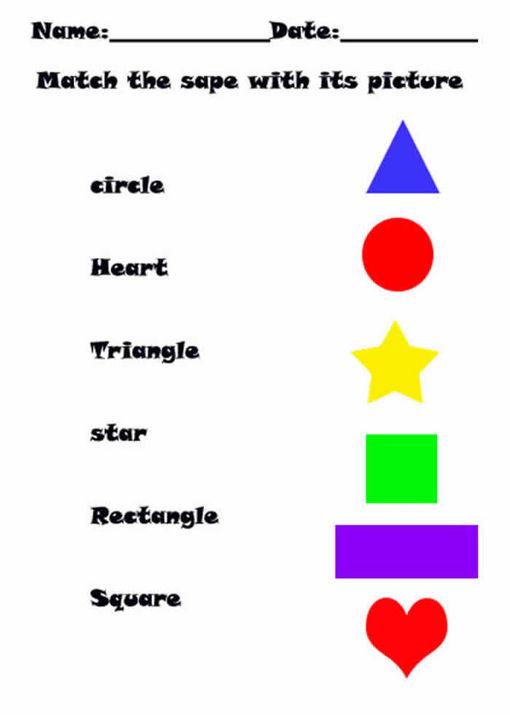 Nombres De Figuras Geometricas En Ingles