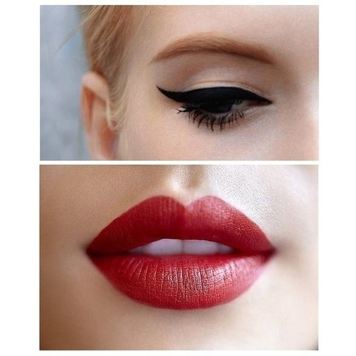 Makeup to wear with a black dress