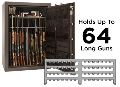 The Liberty Fat Boy Safeu0027s 4 In 1 Flex Interior Allows The Interior Of The  Safe To Be Configured And Customized To Your Use. The Center Divider Is  About ⅔ ...