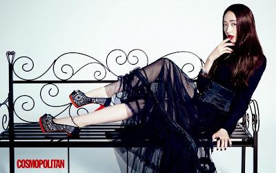 Kim Min Jung - Cosmopolitan Magazine October Issue 2013