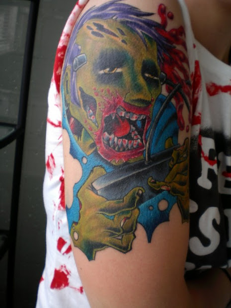 zombie tattoo design beautyway2life