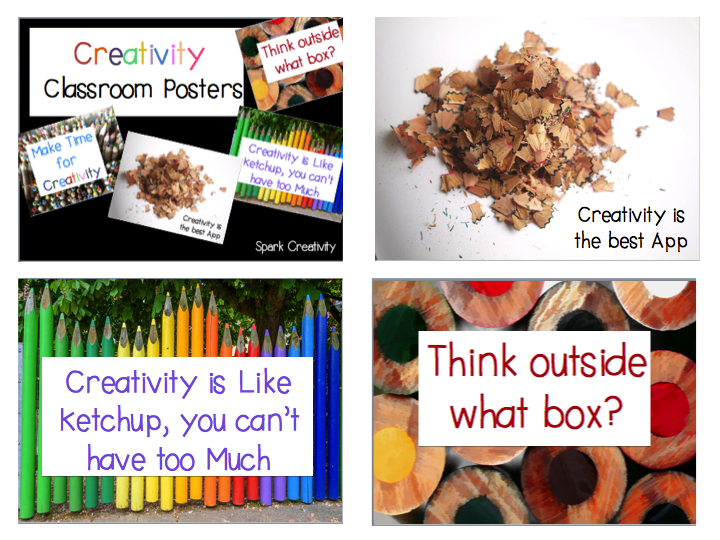 Classroom Creativity Posters