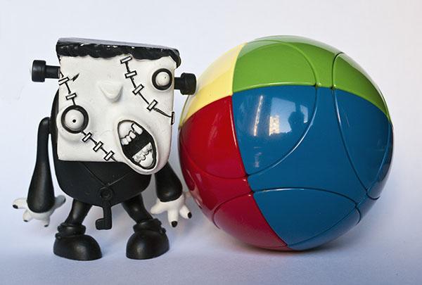 marusenko Sphere Puzzle frankenstein rubik