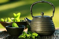 green tea for replace white water