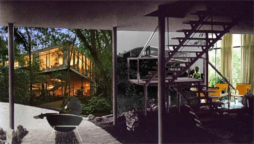 Historia de la arquitectura moderna casa de vidrio for Historia de la arquitectura moderna