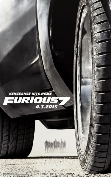 Furious 7 official poster