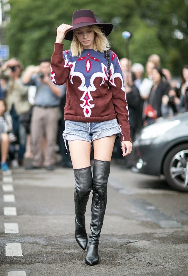 elena perminova, mira duma, helena bordon, anna dello russo, streetstyle, fashion week, couture