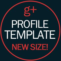 google plus profile image new size 250x250 template download google