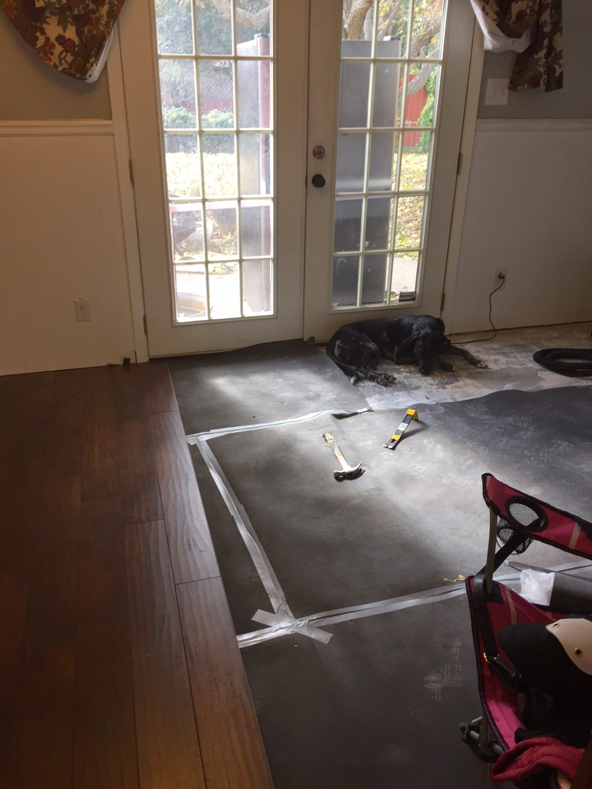 DIY how to lay laminate floor