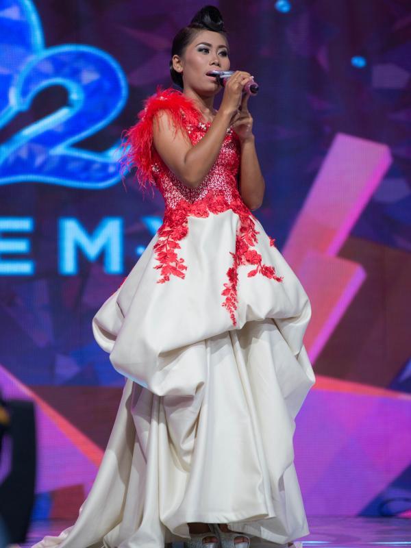 Evi Anggraini Juara Satu Dangdut Academy Indosiar