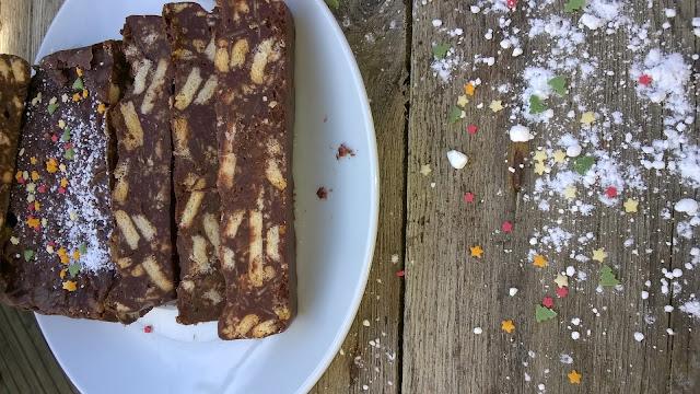 Gâteau chocolat - petits beurre sans cuisson