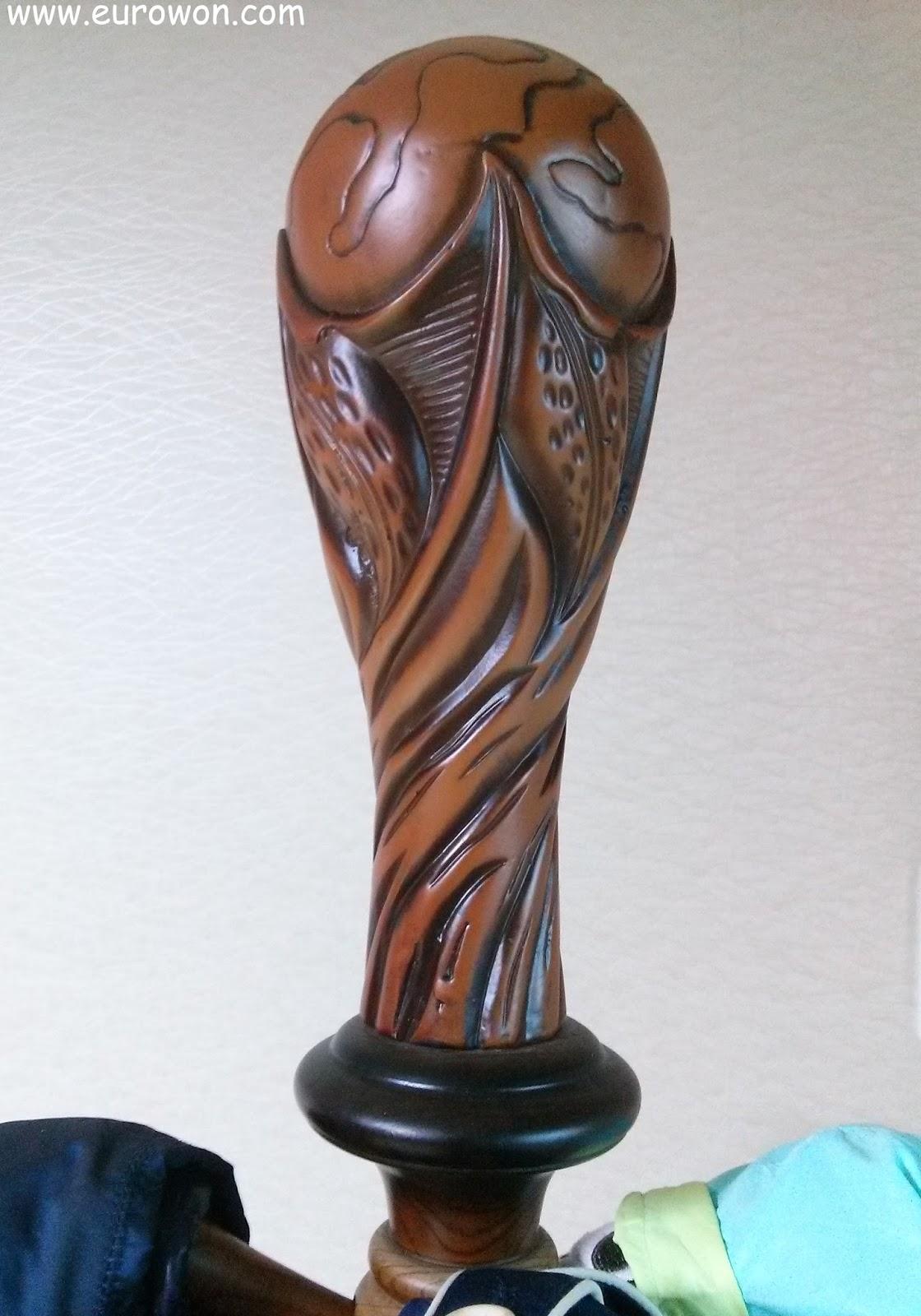Trofeo de madera de la Copa del Mundo de Fútbol