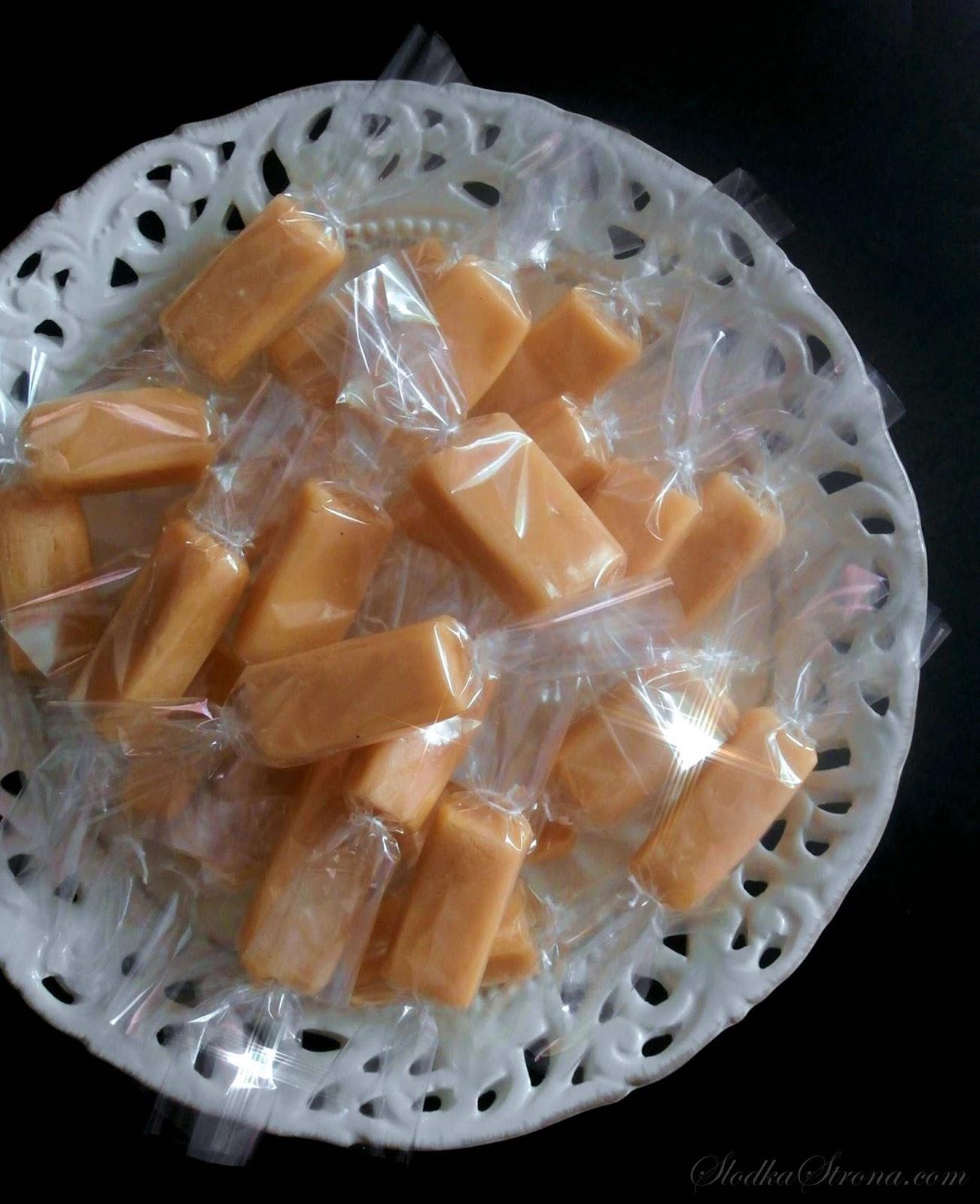 Domowe Cukierki Śmietankowe (jak Werther's Original) - Przepis - Słodka Strona
